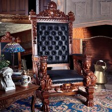 The Fitzjames Throne Leather Armchair