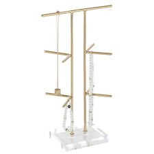 Metal Acrylic Jewelry Stand