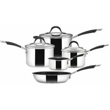 Momentum 5 Piece Non-Stick Stainless Steel Cookware Set