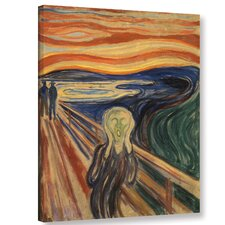 'The Scream'  Painting Print On Wrapped Canvas