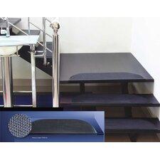 Stufenmatte in Schwarz