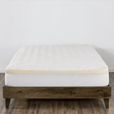 "Rayon from Bamboo Double Thick 3"" Polyester Mattress Pad"