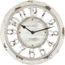 "Round Antique Contour 10"" Wall Clock"