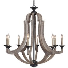Marcoux 8-Light Candle-Style Chandelier
