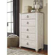 Simplicity Mirrored 5 Drawer Tall Chest Style Steals Furniture