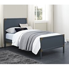 Bria Twin Panel Bed