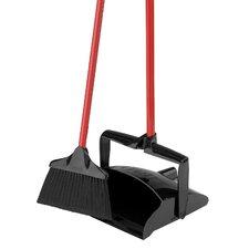 Lobby Broom and Dust Pan