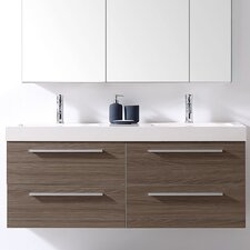 "Finley 54"" Double Bathroom Vanity Set"