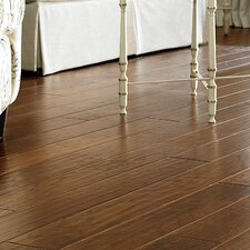 "Porter 5"" Engineered Hickory Hardwood Flooring in Gray"