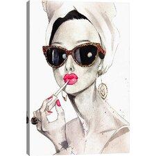 Audrey Hepburn on Canvas
