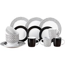 Geo 16 Piece Dinnerware Set