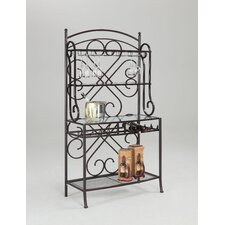 Delores Storage Baker's Rack