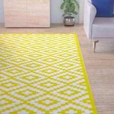 Kenji Yellow Outdoor Area Rug
