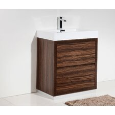 "Tenafly 30"" Single Free Standing Modern Bathroom Vanity Set"
