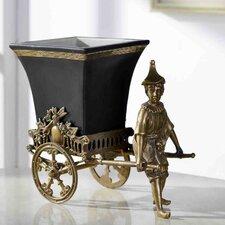 Decorative Manpower Trailer Figurine
