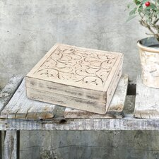 Stonebriar Wooden Decorative Box