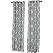 Muriel Luna Single Curtain Panel