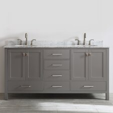 "Newtown 72"" Double Vanity Set"