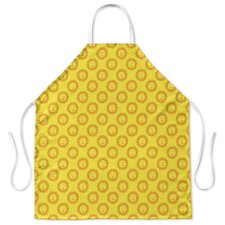 Sunshine Side Print Apron