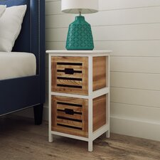 Portsmouth 2 Drawer Bedside Table
