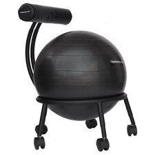 High-Back Exercise Ball Chair