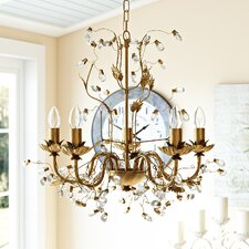 Enes 5 Light Crystal Chandelier