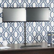 Dual Monitor Height Adjustable Universal 2 Screen Desk Mount