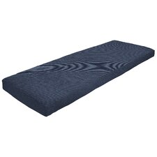 Knife Edge Outdoor Sunbrella Bench Cushion