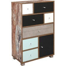 Cochise 1 Door 7 Drawer Chest of Drawers