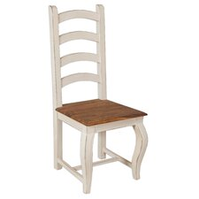 Lille High Solid Wood Dining Chair (Set of 4)