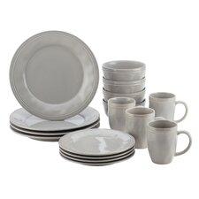 Cucina 16 Piece Dinnerware Set, Service for 4