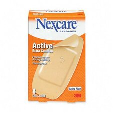 """Knee/Elbow Bandages, Latex-free, 1-7/8""""x4"""" Strips, 8 per Pack (Set of 2)"""