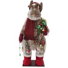 Christmas Moose Inflatable