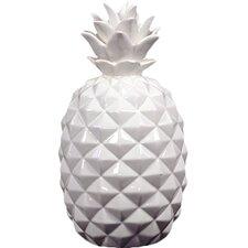 Decorative Ceramic Pineapple Sculpture