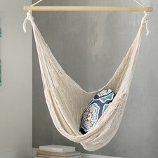 Deserted Beach Hand Woven Cotton Chair Hammock