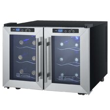 12 Bottle Cascina Series Dual Zone Freestanding Wine Cooler