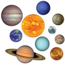 Space 10 Piece Solar System Cutout Set