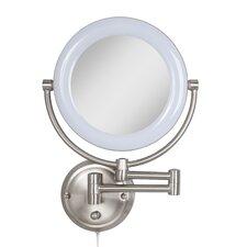 Glam Surround Light Makeup Wall Mirror