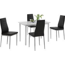 Essgruppe Anke mit 4 Stühlen