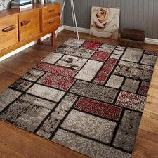Nadene Dusty Brick Red/Brown Area Rug