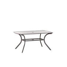 Aluminium Rectangular Dining Table
