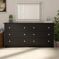 Wanda 6 Drawer Double Dresser