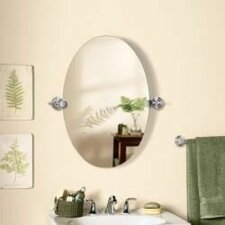 Oval Bathroom Mirrors Decorating Ideas The