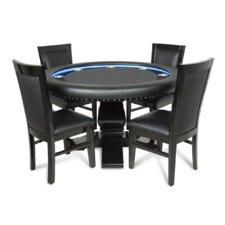 "55"" Ginza LED Poker Table Set"