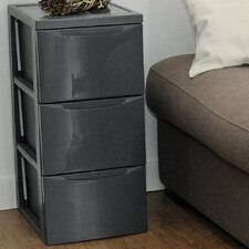 Style 3 Drawer Mobile Chest