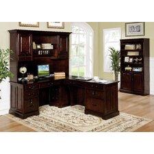 Appleby Transitional L-Shape Desk Office Suite