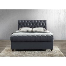 Chasewood Upholstered Sleigh Bed