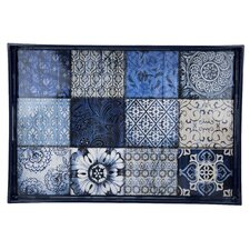 True Blue Rectangle Serving Tray