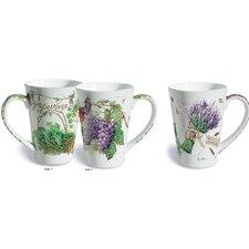 Barnett 2 Piece Wine Country Fine Porcelain Gift Mug Set
