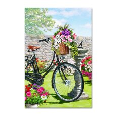 'Vintage Cycle' Print on Canvas